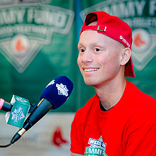WEEI NESN Jimmy Fund Radio-Telethon patient