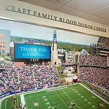 Kraft Family Blood Donor Center