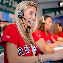 Boston Red Sox wives volunteer  at radio-telethon