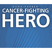 Cancer-fighting Hero card
