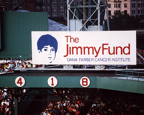 Right field Jimmy Fund Billboard
