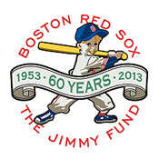 Boston Red Sox Jimmy Fund 60 year anniversary