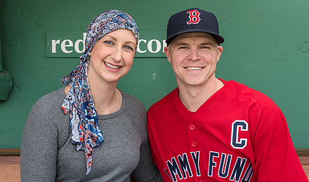Brock Holt is the Jimmy Fund Captain for the 2018 baseball season