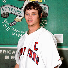 Boston Red Sox player Clay Buchholz
