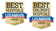 U.S. News & World Report best pediatric and adult cancer hospitals