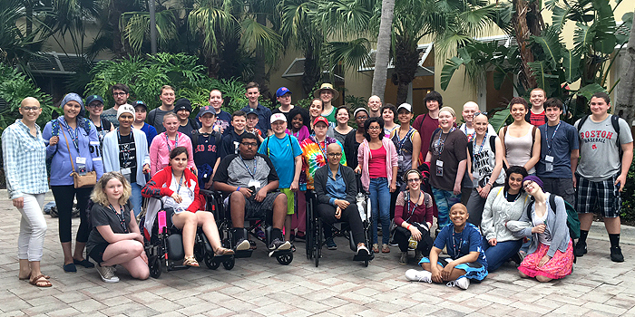 45 patients and 24 chaperones on this year's spring training trip