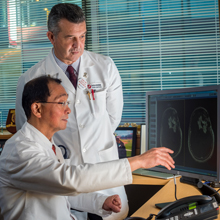 Patrick Wen, MD, and David Reardon, MD