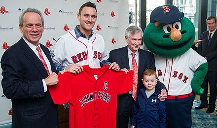 Jimmy Fund/Red Sox press conference