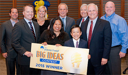 2015 Big Idea contest winners and judges