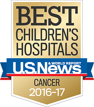 US News & World Report Best Pediatric Cancer Hospital