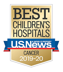 US News and World Report Best Children's Cancer Hospital 2019-2020