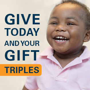 Give today and your gift triples