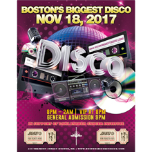 Boston's Biggest Disco logo