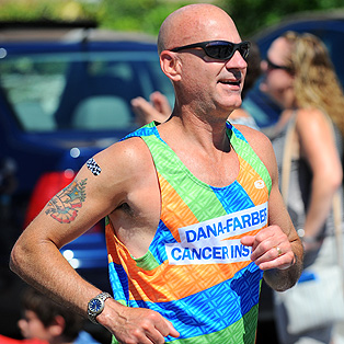 Falmouth Road Race runner 1