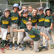 Jimmy Fund Little League team