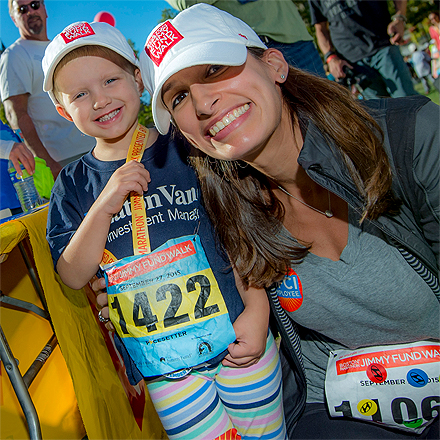 2015 Jimmy Fund Walk participants