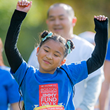 Jimmy Fund Walk participant