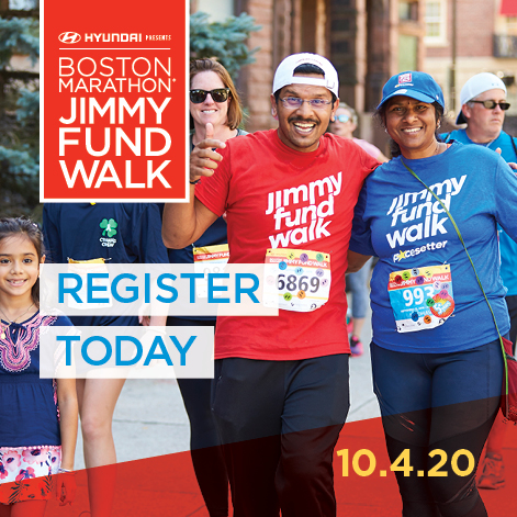 Boston Marathon Jimmy Fund Walk 2020