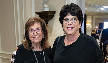 Melvina Feldman and Barbara Sadowsky