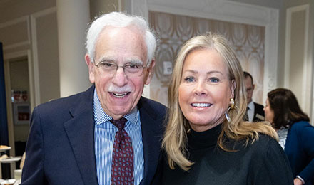 Robert Mayer, MD, and Geri Emmett