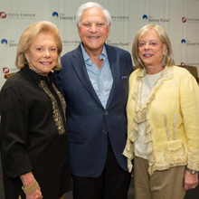 Judie and Larry Schlager (l) and Vicki Loring
