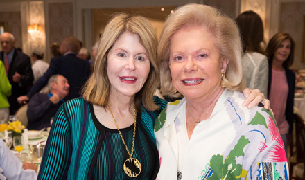 Institute Trustees Jean Sharf and Judie Schlager