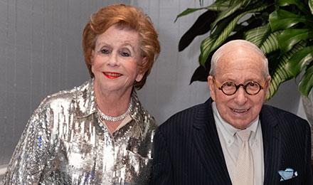 Sandra Krakoff and Roger Saunders