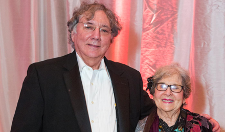 Marian Mandell and Howard Cohen