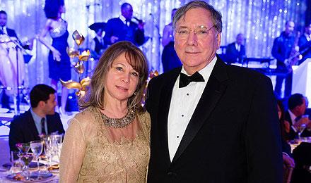 Melinda Gordon and Howard Cohen