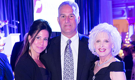 Stacy and Doug Rubin (left) with Hilary Rubin