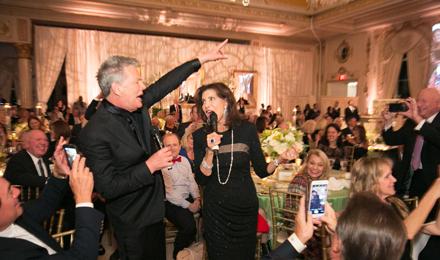 David Foster and Ellen Levy