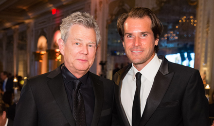 David Foster and Tommy Haas