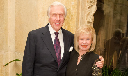 Institute Trustee Donald Dwares and his wife, Bonnie