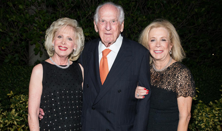 Hilary Rubin (left) with Paul and Terri Sriberg