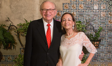 Richard and Phyllis Krock, an Institute Trustee