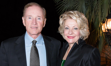 Institute Trustee Roger Medel and his wife, Ginger