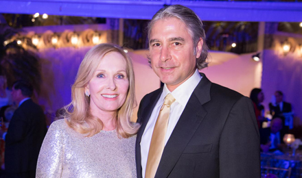 Sheila and Peter Palandjian, an Institute Trustee and Discovery Celebration Co-chair