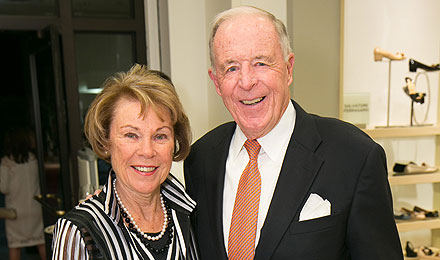 Janine and William McCall, an Institute Trustee