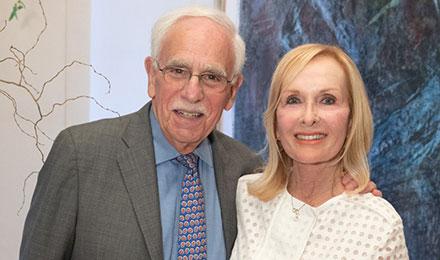 Robert Mayer, MD, and Sheila Palandjian