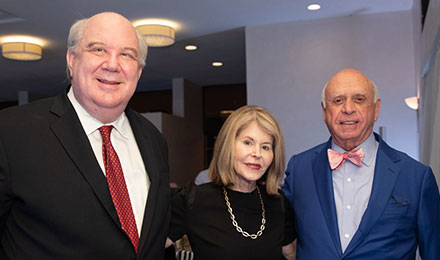 William Mayville, Jean Sharf, and Bruce Beal