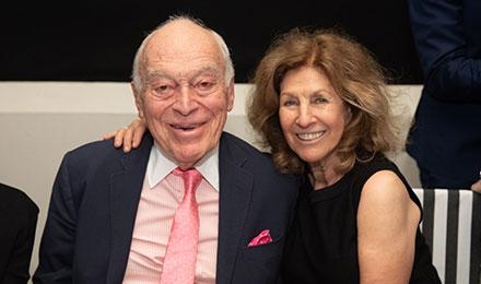 Leonard and Judy Lauder