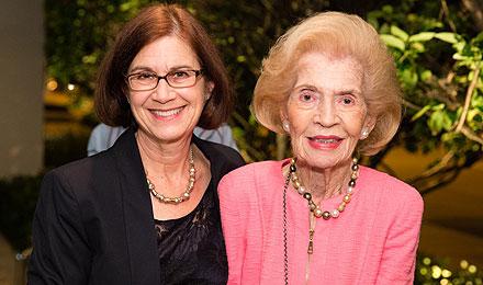 Faye Gmeiner and Marcia Yanofsky
