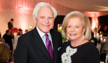 Larry and Judie Schlager, an Institute Trustee