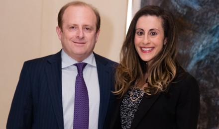 Lauren and Marc Cohen