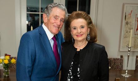 Institute Trustee Robert Belfer and his wife, Renée