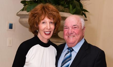 Sandra and Gerald Fineberg
