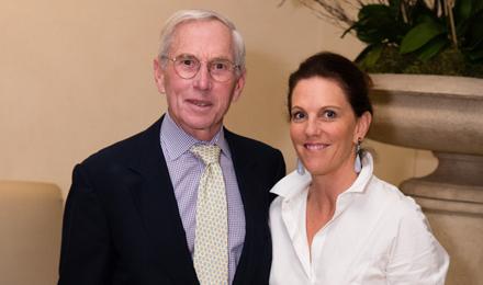 Wendy Bingham and Howard Cox