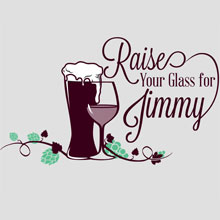 Raise Your Glass for Jimmy 2016 logo