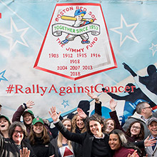 Rally Against Cancer participants