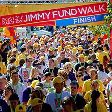 jimmy fund walk participants